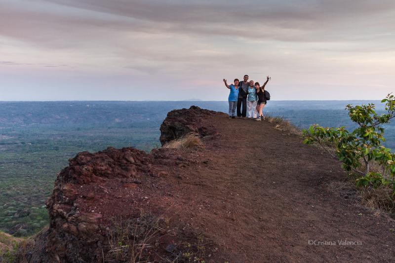 Valle de los Chorotegas, Volcán Masaya, Nicaragua.