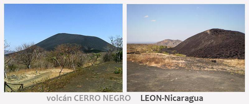 El volcán Cerro Negro tiene solo 500 mts de altura,  lo que lo hace muy accesible comparado con otros volcanes de Nicaragua.